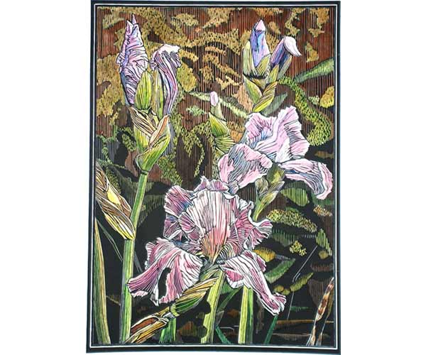 Irises, by Alan LaMont